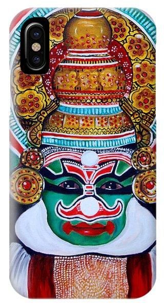 kathakali..Duryodhana IPhone Case
