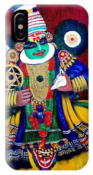 Kathakali..lord Krishna IPhone Case