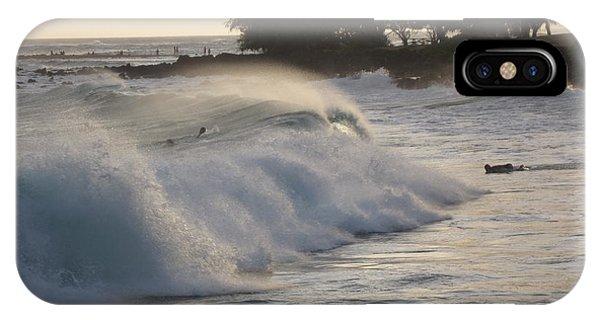 Kauai - Brenecke Beach Surf IPhone Case