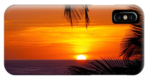 Kauai Sunset IPhone Case