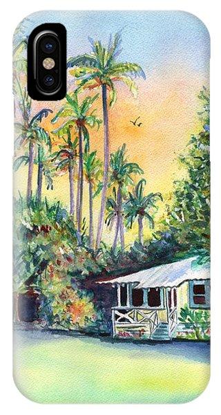 Kauai West Side Cottage IPhone Case