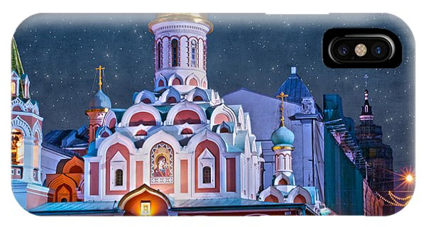 Kazan Cathedral. Red Square. Moscow Russia IPhone Case