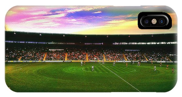 Edit iPhone Case - Kc Stadium In Kingston Upon Hull England by Chris Drake