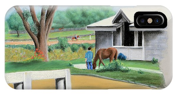 Keenland Paddock IPhone Case