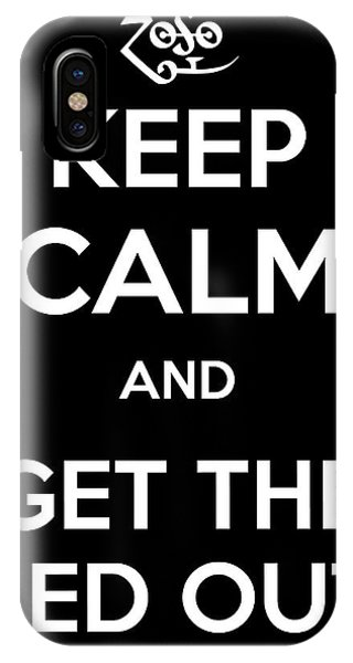Keep Calm And Get The Led Out IPhone Case