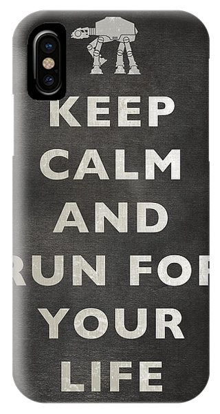 Keep Calm At-at IPhone Case