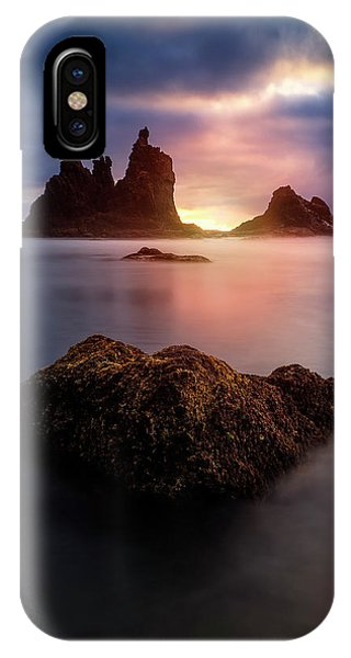 Long Beach Island iPhone Case - Keep It Inside by Carlos M. Almagro