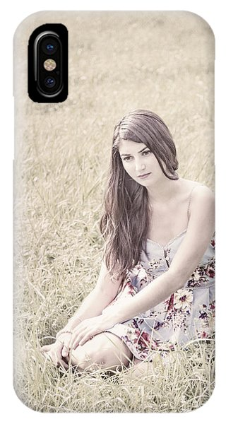Deep Thought iPhone Case - Keep Me In Your Heart by Evelina Kremsdorf