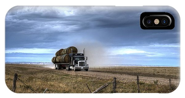 Keep Those Hay Bales Rolling IPhone Case