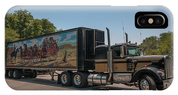 Keep Those Wheels A Truckin IPhone Case