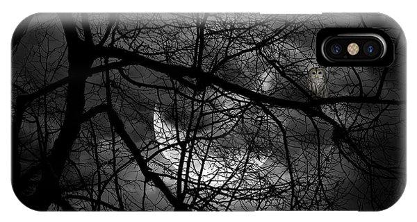 Gloomy iPhone Case - Keeper Of Spirits by Lourry Legarde