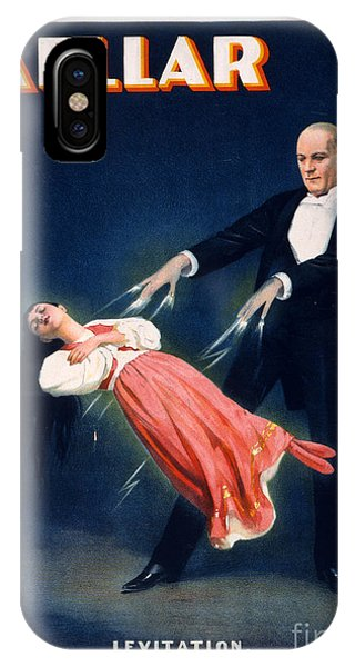 Illusion iPhone Case - Kellar Levitation Vintage Magic Poster by Edward Fielding
