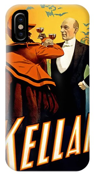 Kellar Toasts The Devil IPhone Case