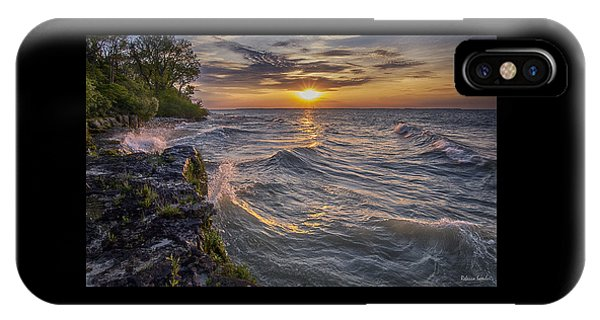 Kelleys Island At Sunset IPhone Case