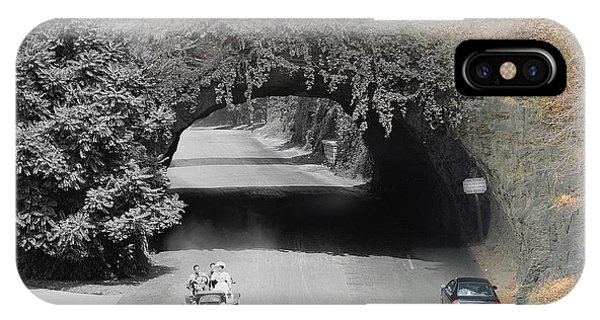 Kelly Drive Rock Tunnel IPhone Case