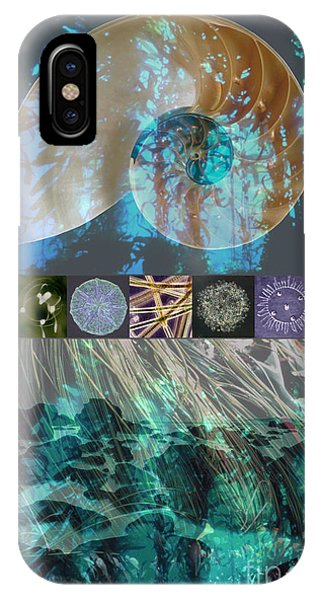 Reef Diving iPhone Case - Kelp Forest by Ursula Freer