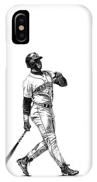 Seattle iPhone Case - Ken Griffey Jr. by Joshua Sooter