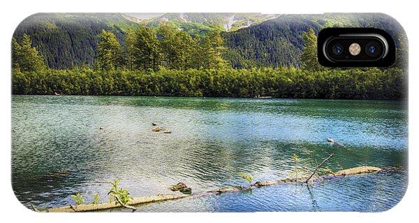 Kenai Alaska Lake IPhone Case