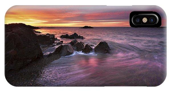 Kennebunk Sunrise IPhone Case