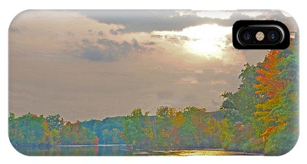 Kensington Autumn Sunset IPhone Case
