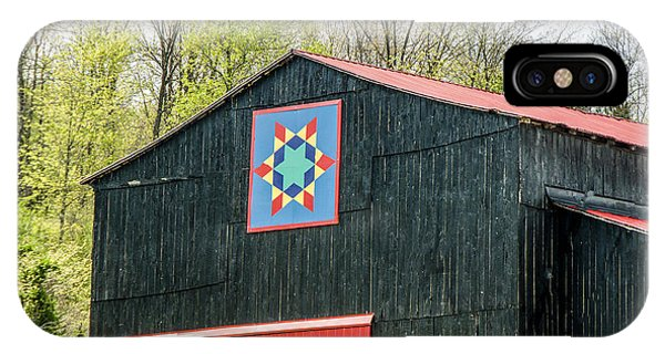 Kentucky Barn Quilt - 2 IPhone Case