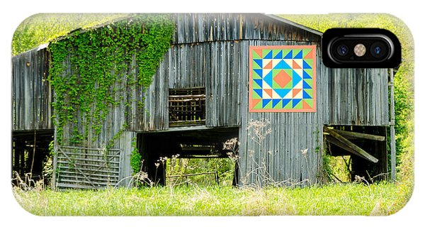 Kentucky Barn Quilt - Thunder And Lightening IPhone Case