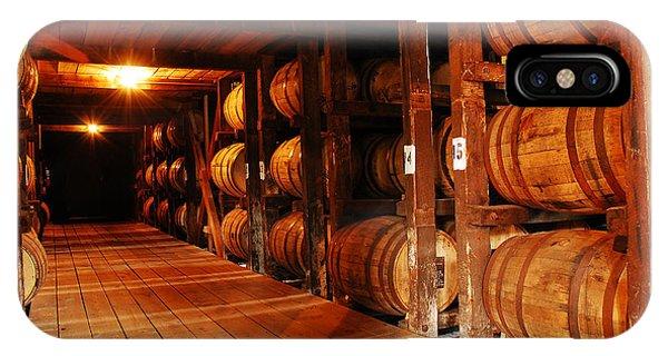 Kentucky Bourbon Aging In Barrels IPhone Case