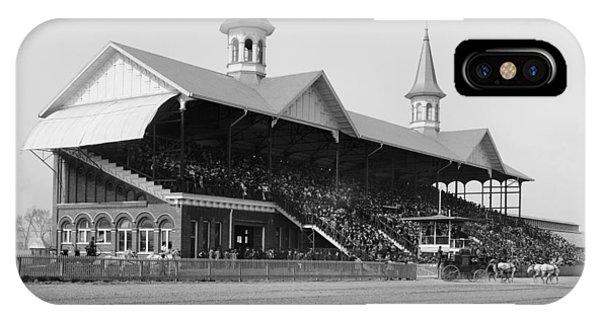 iPhone Case - Kentucky Derby, 1901 by Granger
