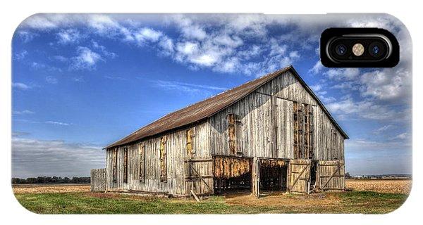 Kentucky Tobacco Barn IPhone Case