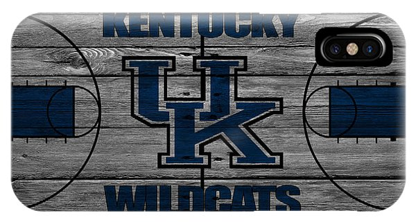 Students iPhone Case - Kentucky Wildcats by Joe Hamilton