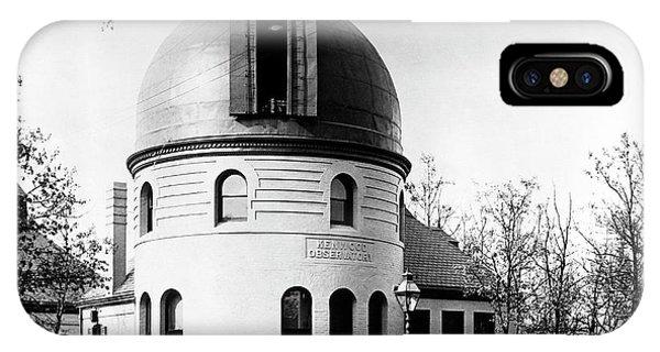 Kenwood Observatory Phone Case by Yerkes Observatory, University Of Chicago, Courtesy Emilio Segre Visual Archives/american Institute Of Physics