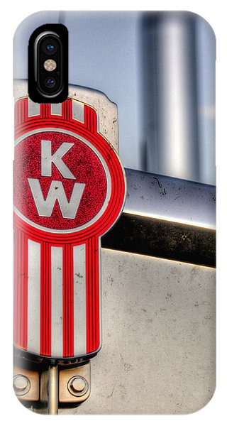 Kenworth Hood Logo 34709 IPhone Case