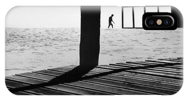 Men iPhone Case - Kept On Walking by Paulo Abrantes