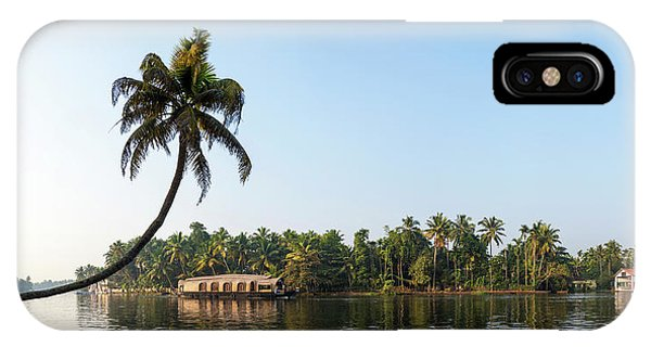 Kerala iPhone Case - Kerala Backwaters Near Alappuzha by Panoramic Images