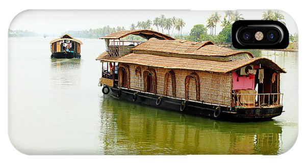 Kerala Houseboats IPhone Case