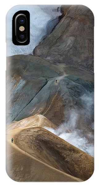 Spring Mountains iPhone Case - Kerlingarfja?ll by Ira Aschermair