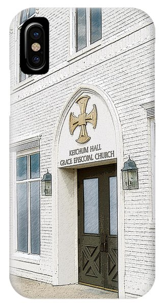 Ketchum Hall IPhone Case