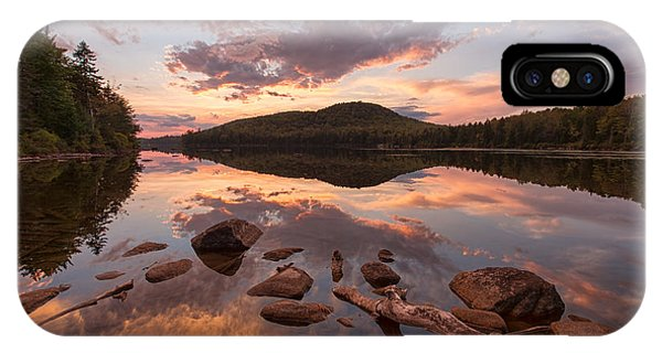 Kettle Pond Sunset IPhone Case