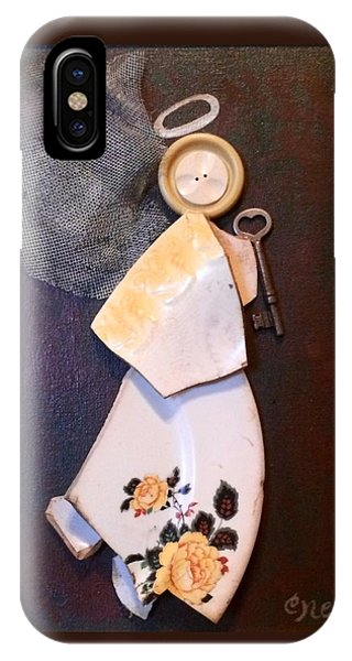 Key Angel IPhone Case