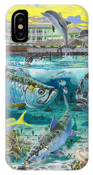 West Bay iPhone Case - Key Largo Grand Slam by Carey Chen