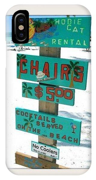 Key West Beach Phone Case by Bruce Kessler