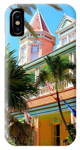 Porches iPhone Case - Key West by Carey Chen