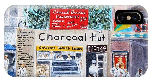 Key West Charcoal Hut IPhone Case