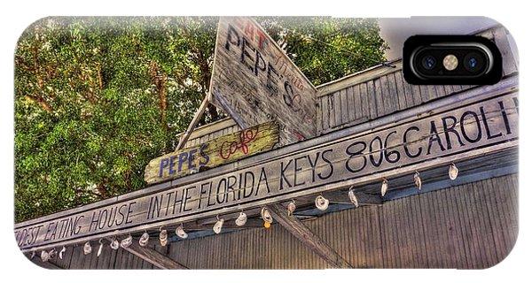 Key West Eatin IPhone Case