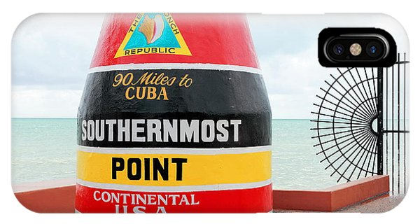 Key West Futhermost South Buoy IPhone Case