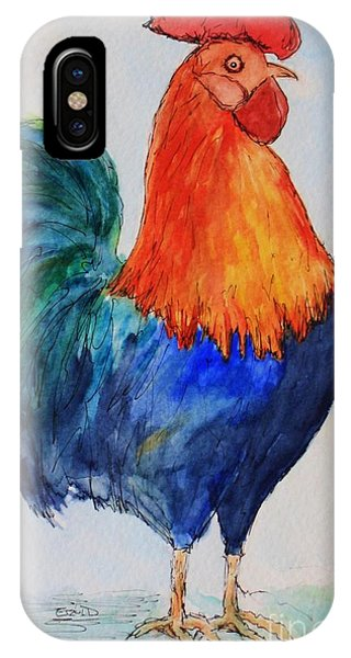 Key West Rooster IPhone Case