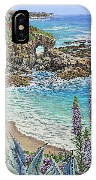 Keyhole Rock Laguna IPhone Case