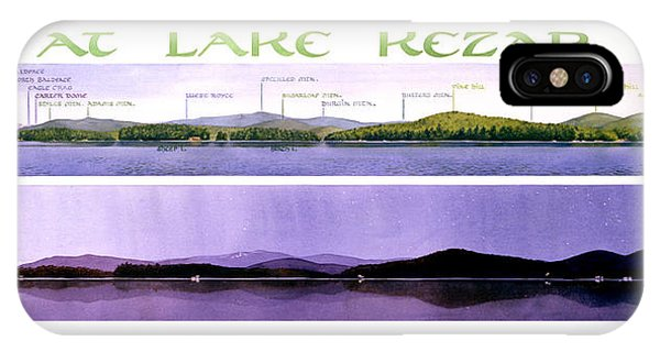 Kezar Lake View IPhone Case