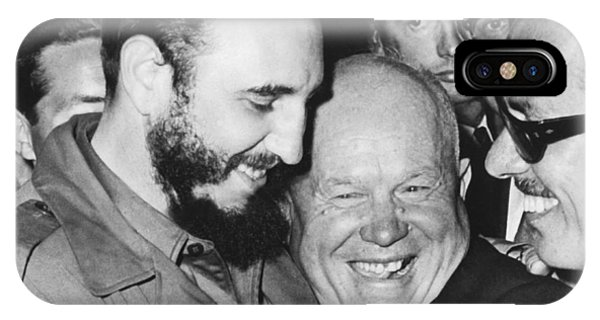 Khrushchev And Castro IPhone Case