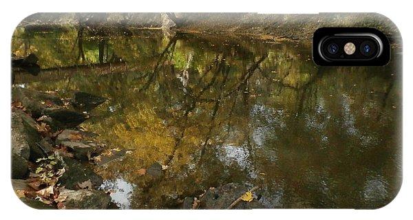 Kickapoo Creek Bridge IPhone Case